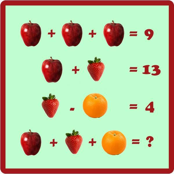 реши задачу по картинке на логику методие