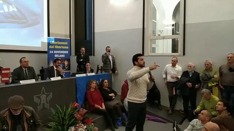Vox Milano. Appello di Amodeo: Nati per opporci al Cartello finanziario.
