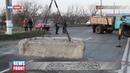В Луганске восстановили путепровод подорванный диверсантами в сентябре
