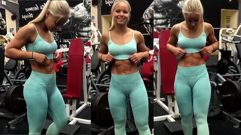 Fit Women Workout -Best Female Abs Workout-FBB Presents Female abs RIPPED SHREDDED Girls abs P-2