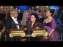 Montserrat Caballe, Nikolay Baskov , Montserrat Marti - La Tarantula (Звездное трио 2013)