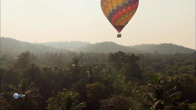 Вокруг света на воздушном шаре Шри Ланка 4 из 5 HD 720p