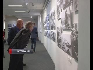Подвиг жителей Заполярья в рисунках и фотографиях. В Мурманске открылась выставка «Битва за Север»