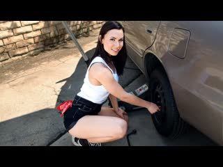 [LookAtHerNow] Aidra Fox - Rotating Her Tires