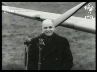 Brazilian Ambassador, Moniz De Aragao, presents Spitfires to the RAF received by Archibald...(1943)