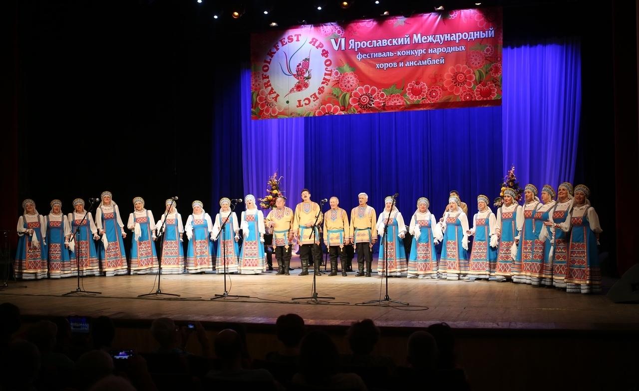 Хор русской народной песни «Родник» взял Гран-При на фестивале в Ярославле