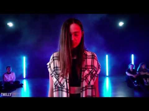 Kaycee Rice dancing to Billie Eilish
