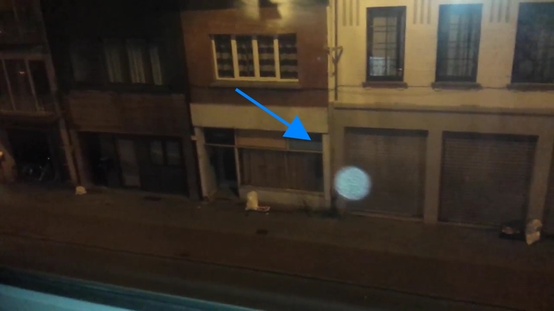 Blue Ghost Orb Caught on Camera and Flies Inside Through Window!