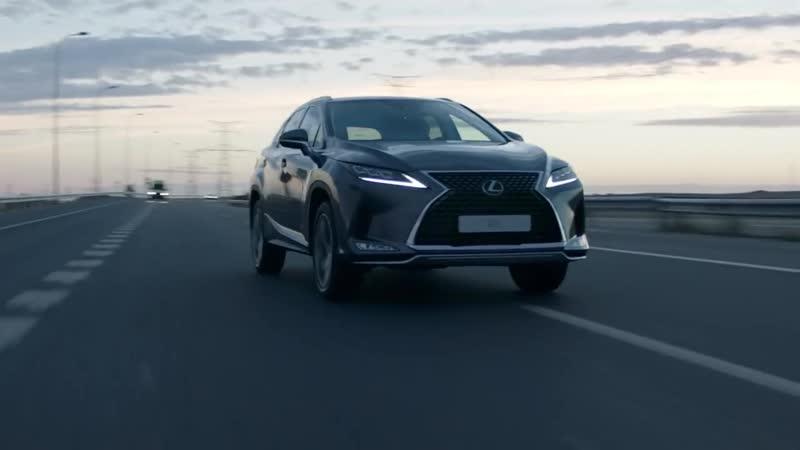 Обновлённый Lexus RX