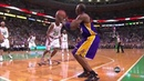 Kobe bryant gets heckled and drains two 3's in a row!HD