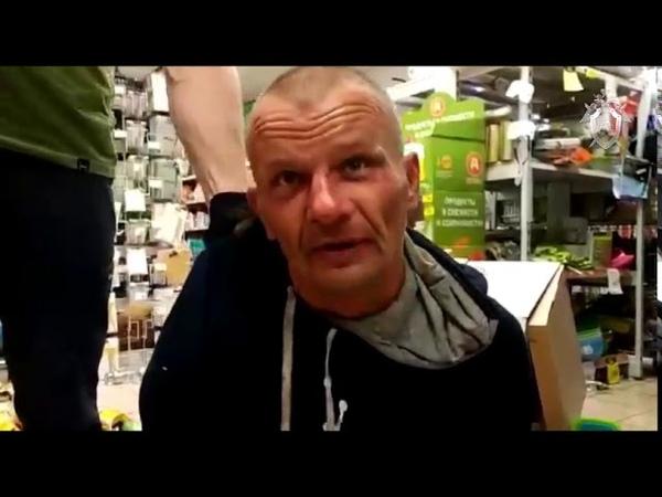 Допрос мужчины, захватившего заложников в Москве 01 июля 2018