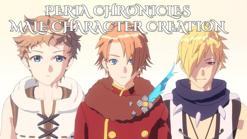 Peria Chronicles Male Character Creation