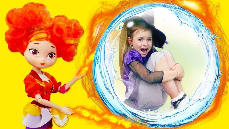 Барби Злодейка заколдовала друзей Юлли! Видео для девочек с куклами Сказочный патруль