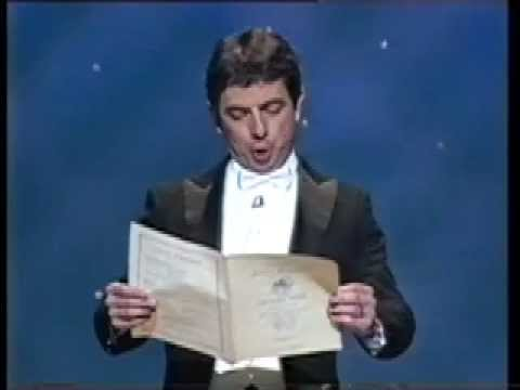 Rowan Atkinson Mr Bean European Anthem 'Beethoven's 9th Symphony'