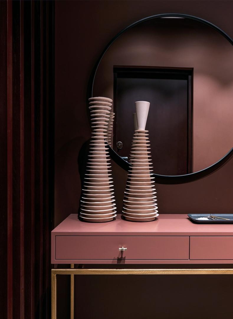 Глубокие цвета в квартире от студии Atelier Interior || 02