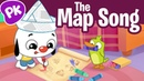 The Map Song Song for kids about maps and navigation PlayKids I Love to Learn songs for Kids
