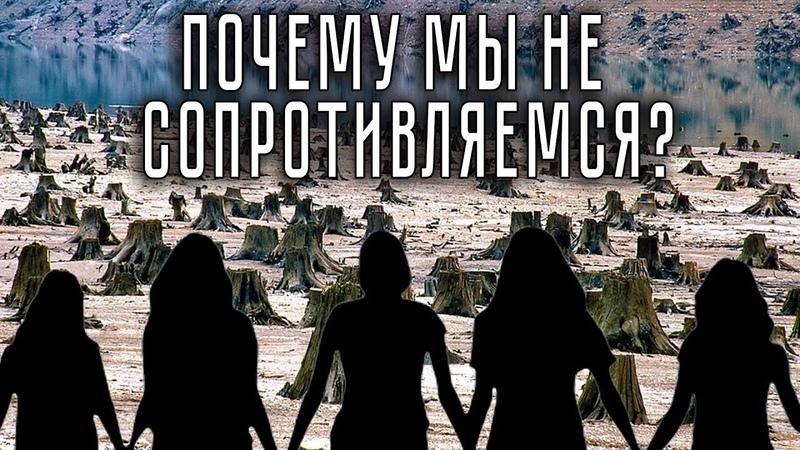 Почему мы не сопротивляемся? ЛюдмилаФионова Экология Катастрофа