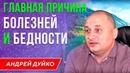 ГЛАВНАЯ ПРИЧИНА БОЛЕЗНЕЙ И БЕДНОСТИ Андрей Дуйко Школа Кайлас 1 ступень 2018