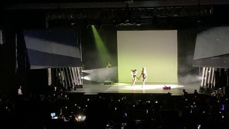 Hayley Kiyoko Gives Big Intro to Sia Who Sings Titanium at the L A LGBT Center Gala