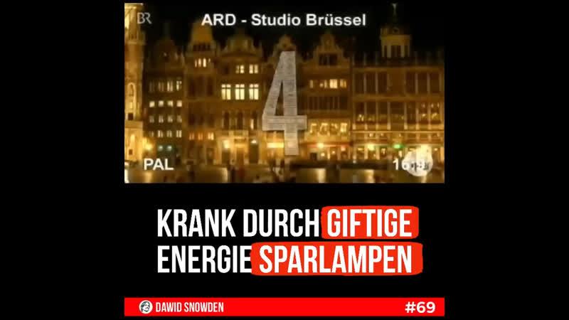 69 Krank durch giftige Energiesparlampen