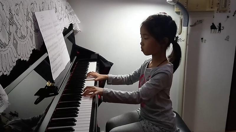 6m1w 涵 小二 貝茲兔的初級鋼琴,No 9 壞掉的鋼琴