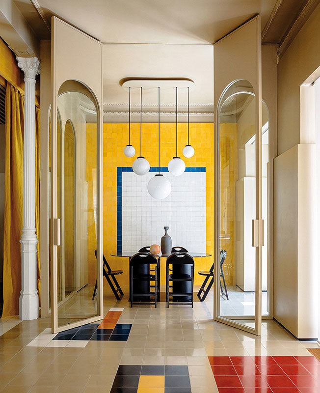 Casa Josephine: офис на месте автомастерской в Мадриде