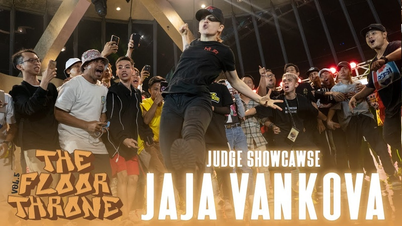 Jaja Vankova (USA) | Judge Showcase | The Floor Throne Vol. 5 Indonesia | RPProds | Danceproject.info
