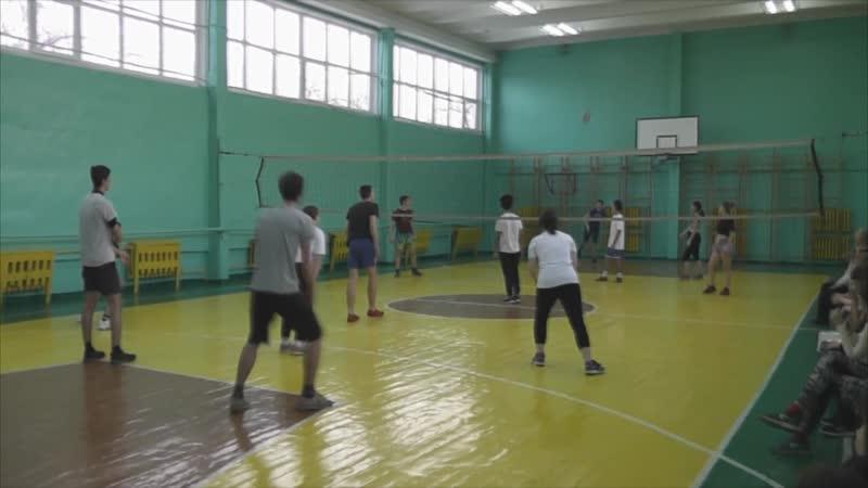 Чемпионат по волейболу среди старшеклассников школы 95