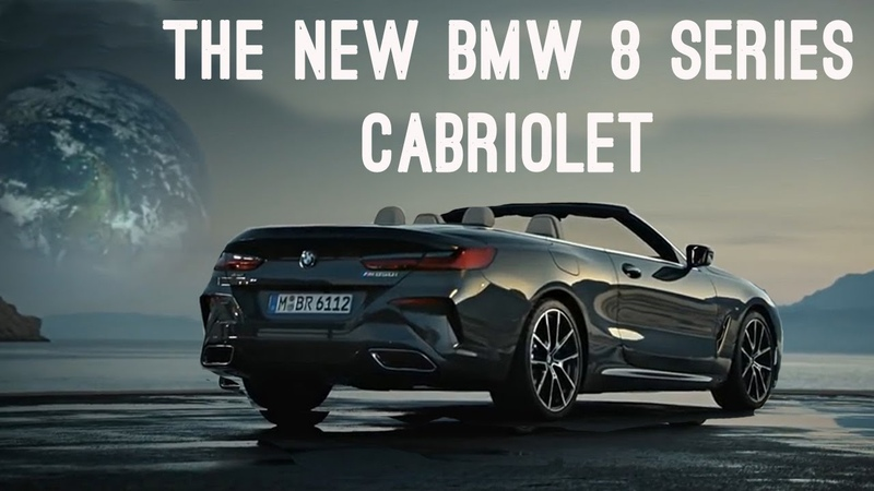 The new BMW 8 Series Cabriolet