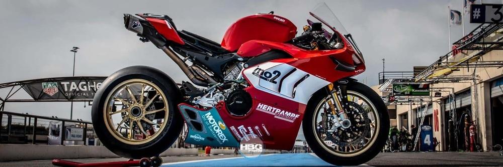 Гоночный мотоцикл Ducati Panigale V4 R Endurance