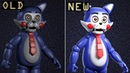 Old VS. NEW Animatronics in Five Nights at Candys Remastered
