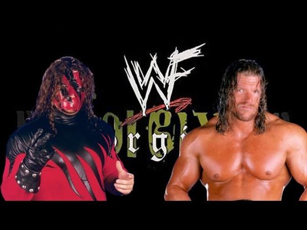 WWE 2K19 Triple H vs Kane, Unforgiven '99, Iron Man Match (20 min)