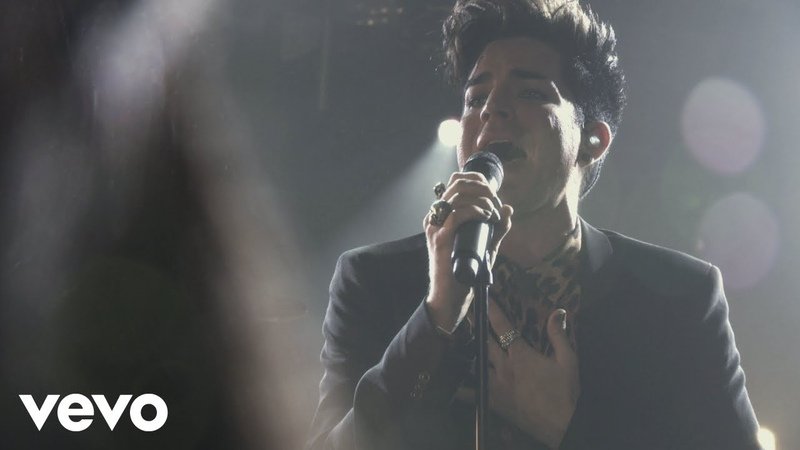 Adam Lambert Whataya Want from Me Clear Channel iHeartRadio 2012