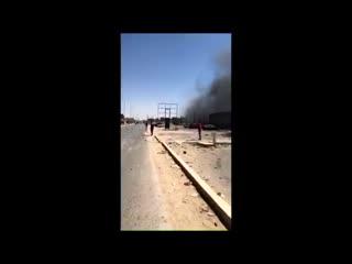 A car bomb explodes in al- hawari area of benghazi