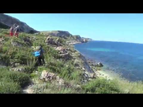 Поход по Крыму Окоёмы Тарханкута Урочище Джангуль