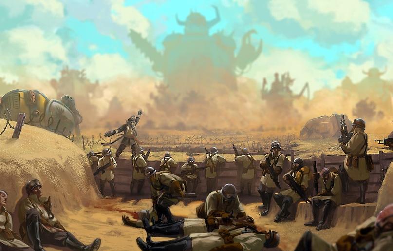 Битва за Армагеддон: Атака Хаоса. Обзор, изображение №1