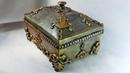 Великолепная шкатулка-ларец из картонной коробки