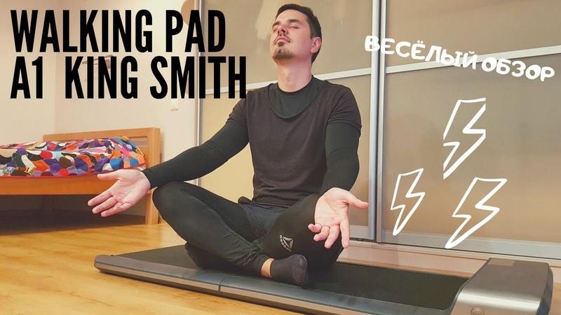 Как похудеть дома Складная беговая дорожка WalkingPad от KingSmith Весёлый обзор ПавЭл Лайф