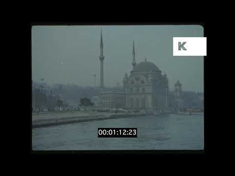 1970s Istanbul Turkey HD from 35mm
