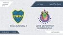 AFL19. America. Segunda. Day 16. Boca Juniors-2 - Club Deportivo Guadalajara.