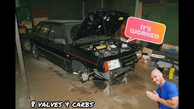 `91 Lada Samara Topas 1500 4 carbs