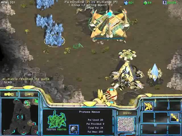 FPVOD REPS Tama vs iFU eOnzErG PvZ Game 1 Starcraft Brood War 2015