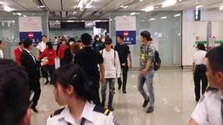 170513 BTS arrived Hong Kong airport pt3