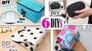 6 DIYs BEST BAG IDEAS NO SPEND MONEY Cute Purse Bag Tutorial Easy