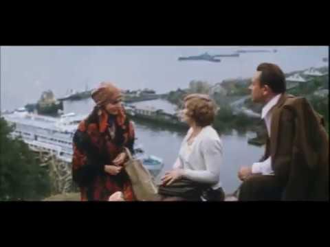 г. Юрьевец,на заднем плане порт съёмка,на Зелёной горе...Эпизод из худ. фильмаПоздние встречи