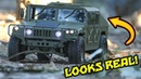 AMAZING RC CAR - HG P408 US MILITARY HUMVEE Upgraded Version - PART 2 First Drive