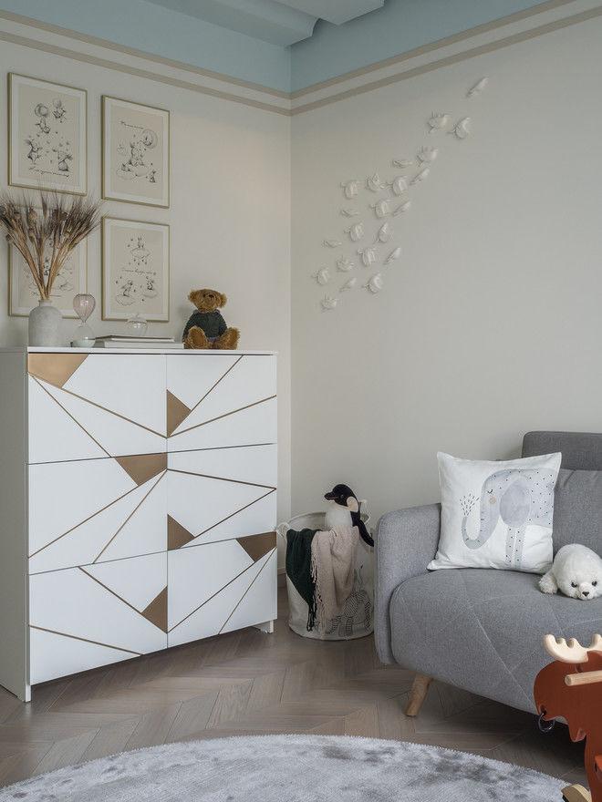 Квартира 120 м² для творческой пары в Нижнем Новгороде от Ксении Понятовой || 02