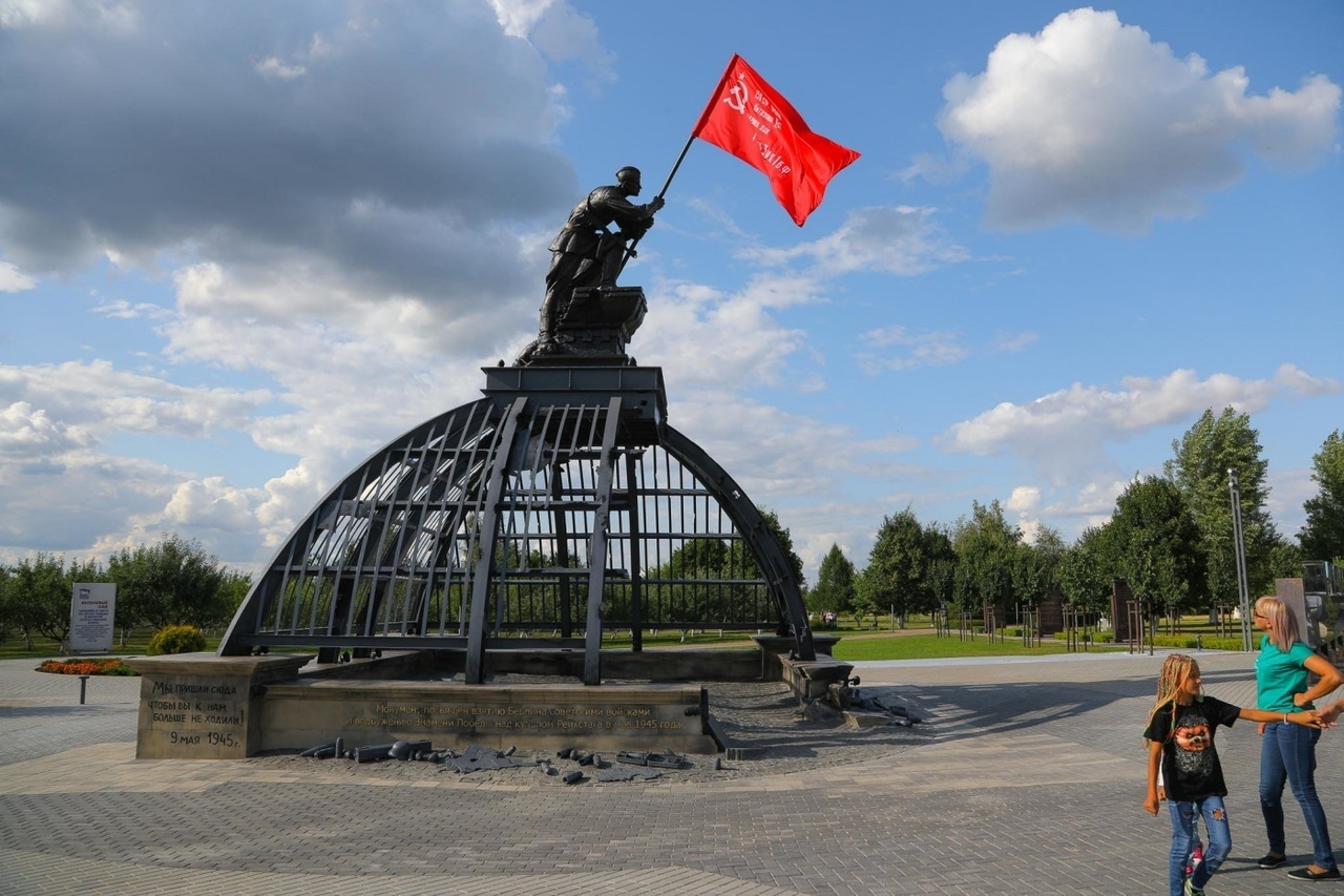 Монумент в виде купола Рейхстага установили в Прохоровке в 76-ю годовщину сражения