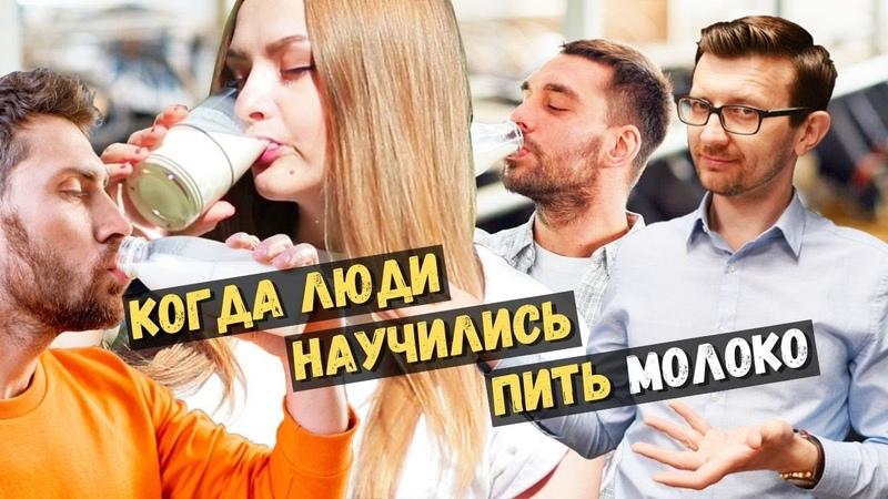 Когда люди научились пить молоко Непереносимость лактозы и естественный отбор Такова История №39