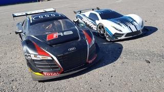 Ставим Audi R8 на место! ... Выступаю на Traxxas XO-1 RC car